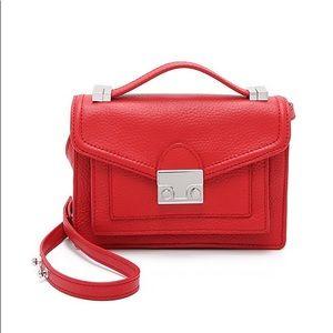 Loeffler Randall Mini Red Crossover Bag NWT
